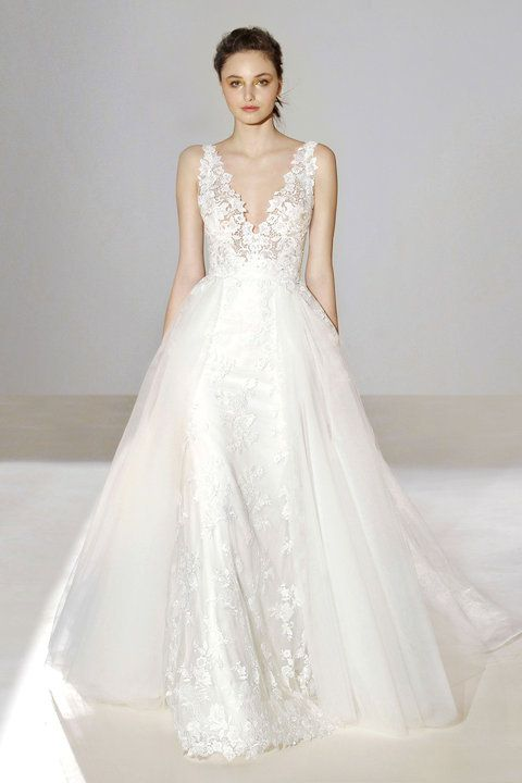 LAZARO | Fall 2016 | Style 3656 | Bridal Gown--Unique Gowns, Pant ...