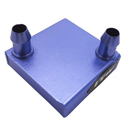 Vvw Diy Aluminum Water Cooling Block For Cpu Graphics Radiator