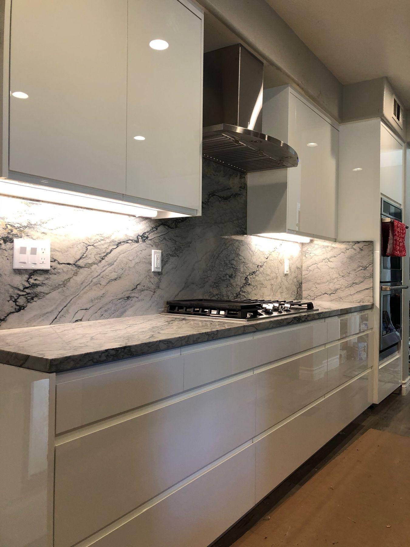 High Gloss Modern Fingerpull In 2020 Kitchen Remodel Jo Wood Kitchen