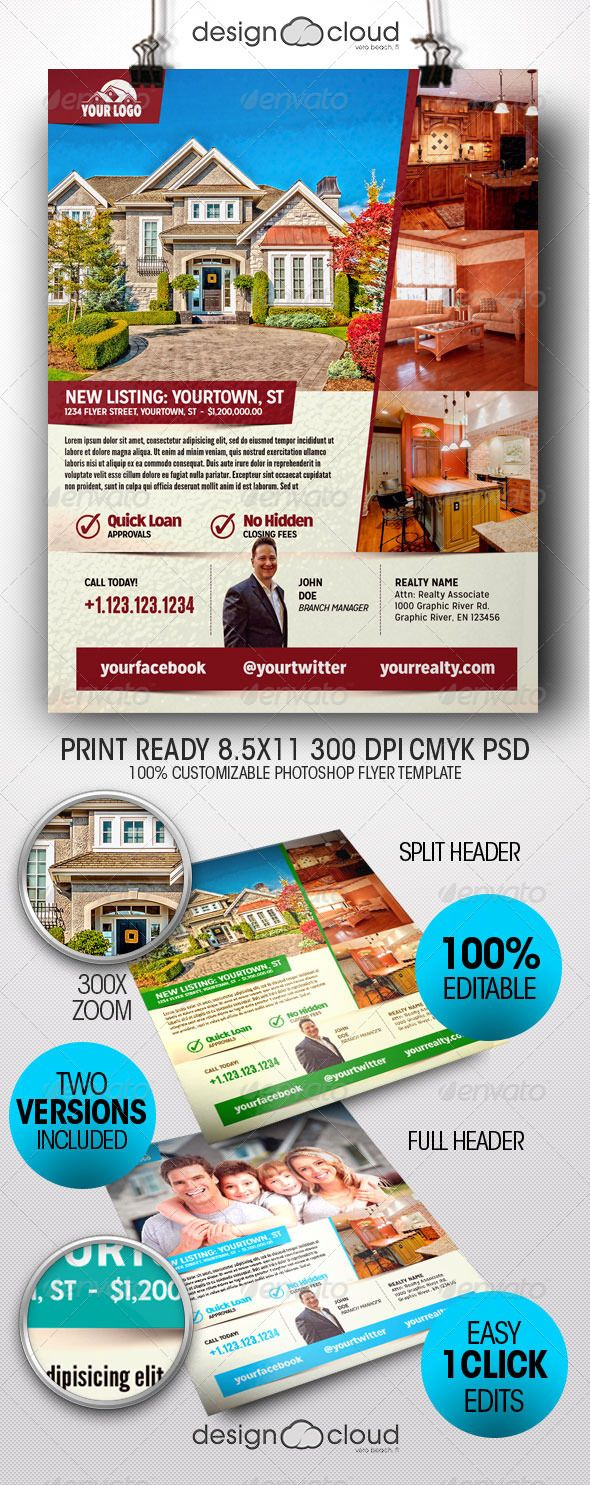 realtor real estate flyer templates the flyer flyer template the realtor real estate flyer templates are perfect for new home listings information sheets leave behinds compa