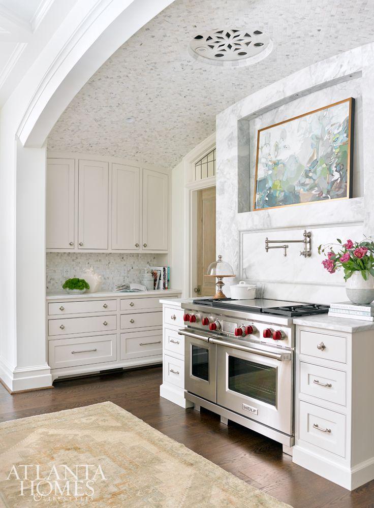Interior design- Lauren DeLoach Interiors   Builder and architect- Richard W. Greene Inc.
