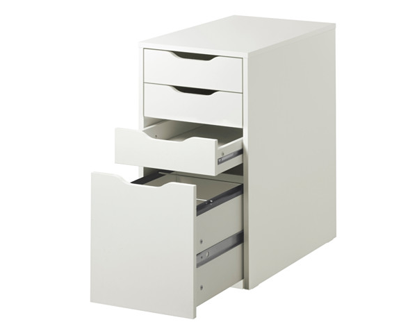 Alex Hanging File Storage Drawers from Ikea  sc 1 st  Pinterest & Alex Hanging File Storage Drawers from Ikea | DIY Projects ...