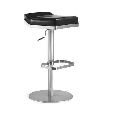 Bellini Modern Living Dino Swivel Barstool Bar Stools Bellini Furniture Adjustable Bar Stools