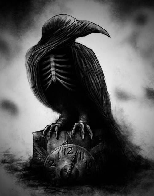 Her Witching Hour в 2019 г. | Ворон тату, Воронье ...