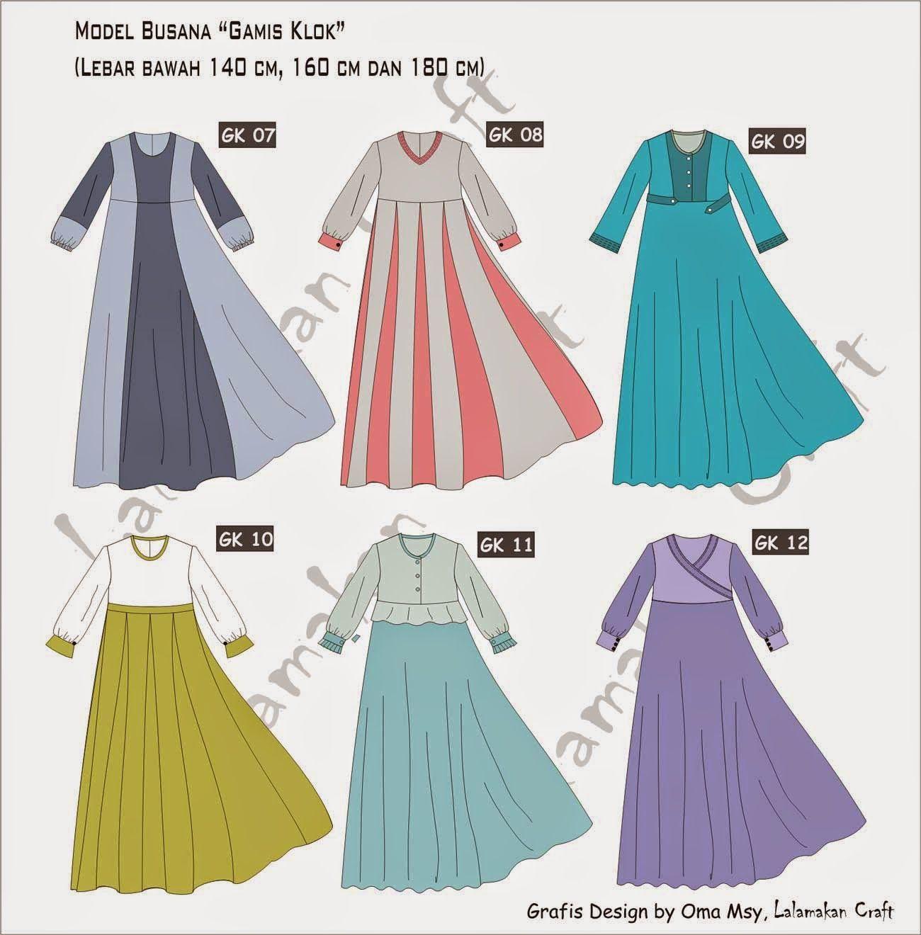 Pesan Pola Busana  Baju model lama, Model pakaian, Sketsa model