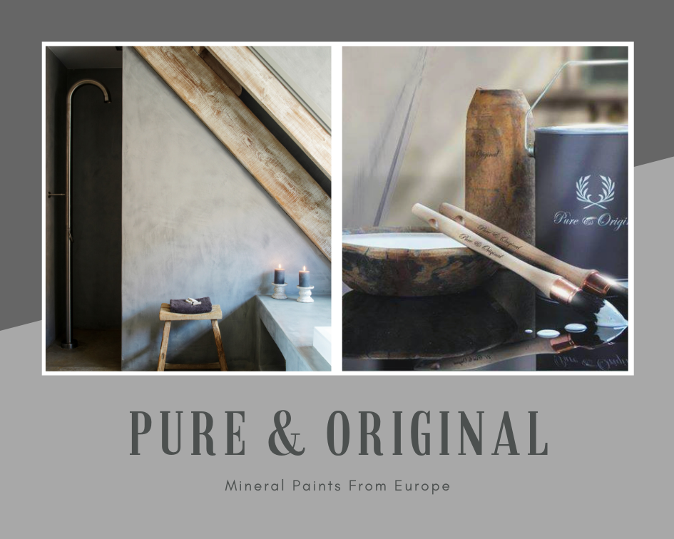 Marrakech Walls By Pure Original The Perfect Lime Plaster Paint To Achieve A Concrete Look Wall 100 Mineral Si With Images Mineral Paint Lime Paint Chalk Based Paint