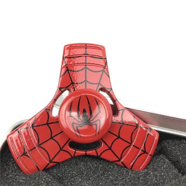 Captain America Shield Iron Man Spider Man The Hulk Fid Spinners