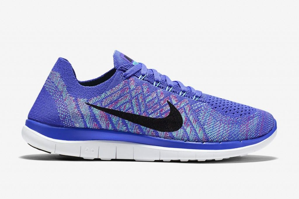 "75a1f9483 Nike WMNS Free 4.0 Flyknit ""Persian Violet   Hyper Jade"""