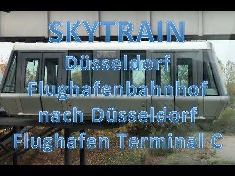 Skytrain Düsseldorf Flughafenbahnhof Flughafen Terminal