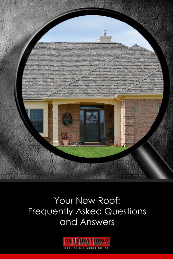 Your New Roof Frequently Asked Questions And Answers Residential Roofing Roof Installation This Or That Questions