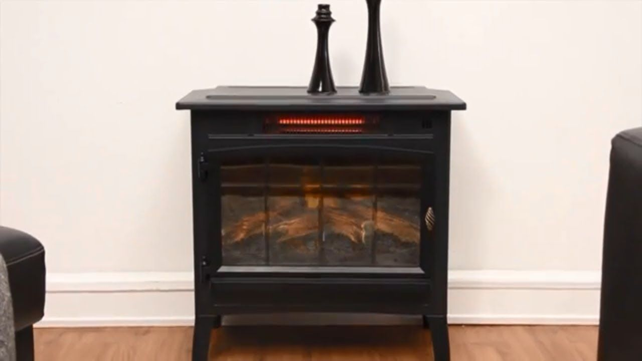 Duraflame Electric Infrared Quartz Fireplace Stove With 3d Flame