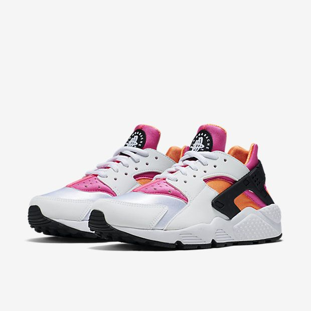 bb38c17795a6 Ladies you can still pick up the Nike Air Huarache Total Orange   White.  http
