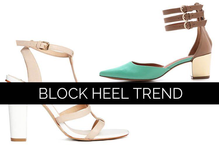 Block Heel Trend 2014 Summer Style