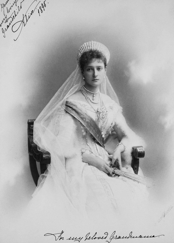 Empress Alexandra Feodorovna in a personal photograph ...
