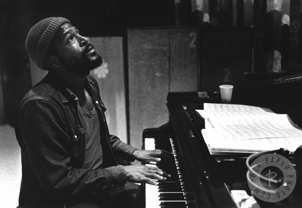 Marvin Gaye by Jim Britt