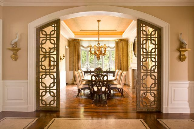 10 Fantastic Rooms With Flex Trim By Canadian Specialty Ceilings Traditional Dining Rooms Stylish Dining Room Living Room Partition Design