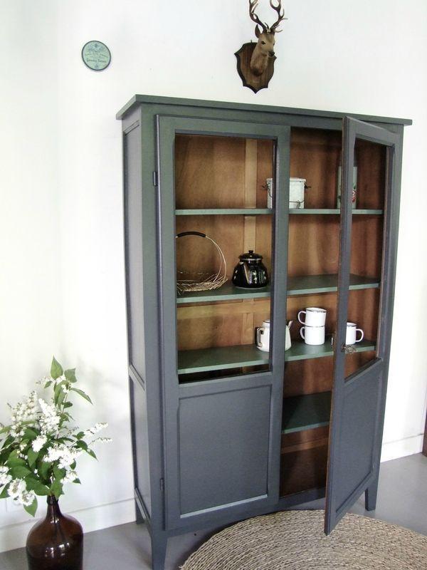 r sultat de recherche d 39 images pour repeindre une armoire. Black Bedroom Furniture Sets. Home Design Ideas