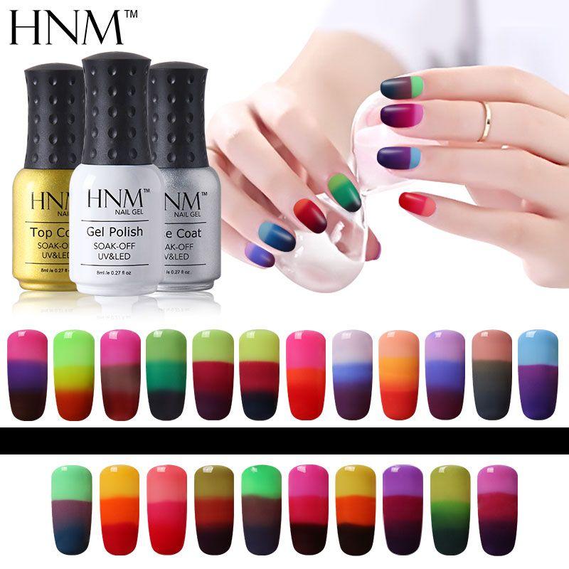 HNM Temperatura 3 Colores Mood Cambio de Esmalte de Uñas de Gel ...