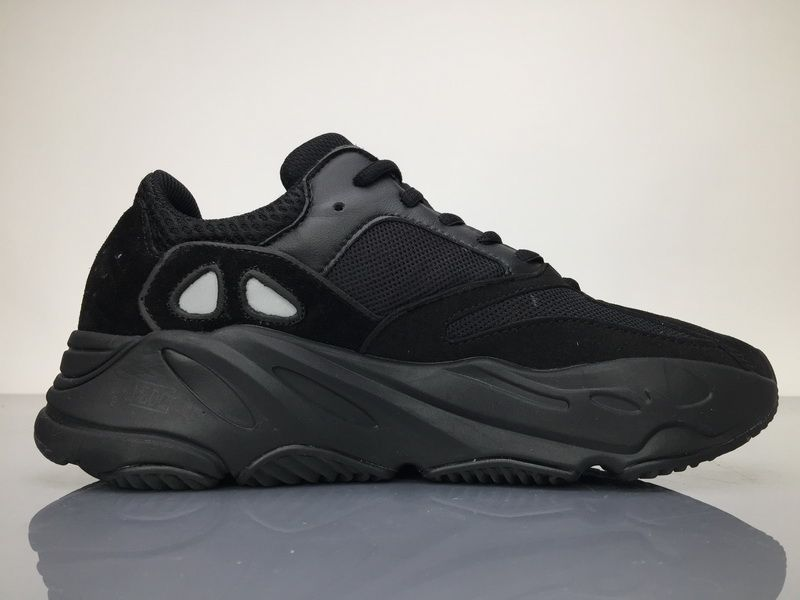 e9b7f7b110b Adidas Yeezy Wave Runner 700 B75576 Triple Black Real Boost for Sale5