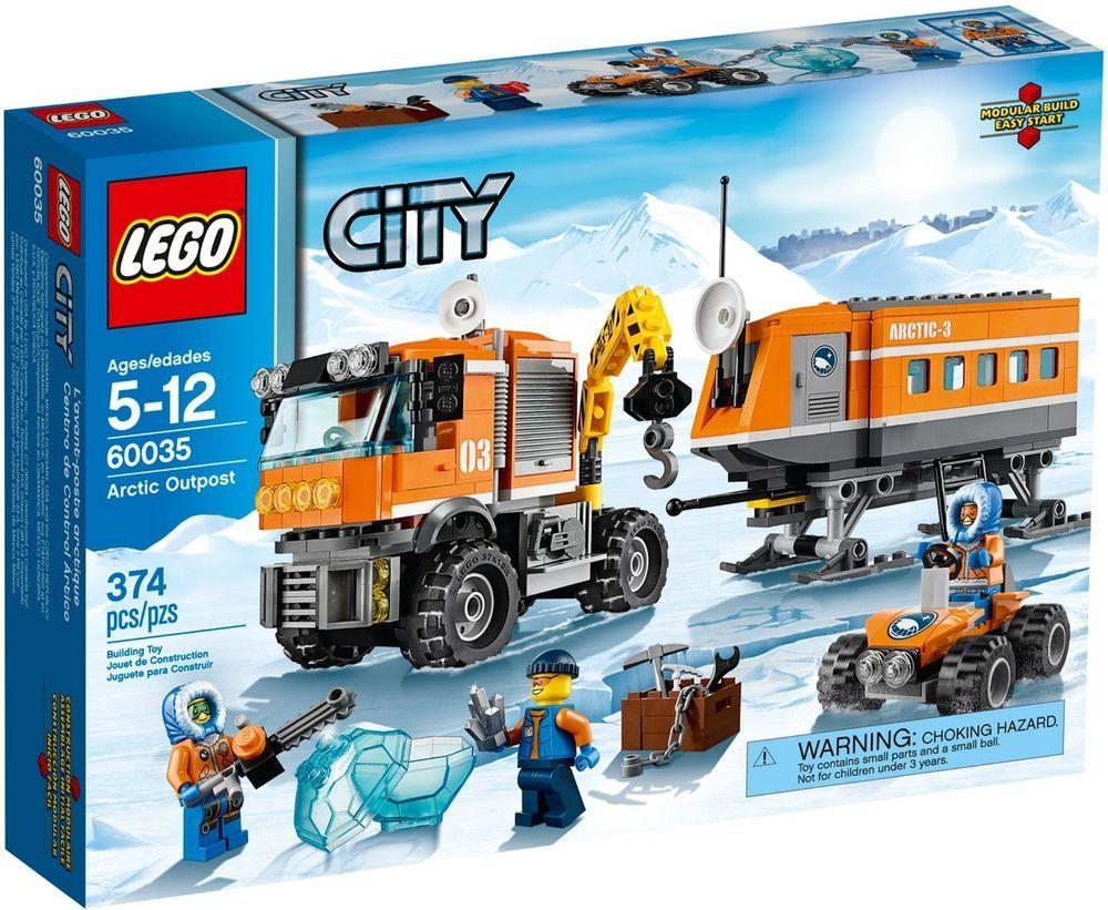 60035 ARCTIC OUTPOST lego set LEGOS city town SEALED NEW truck polar