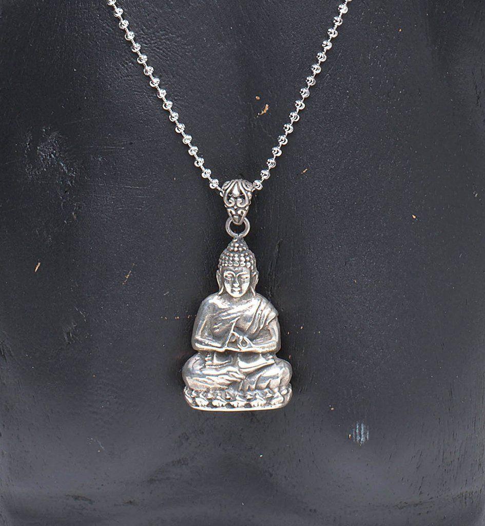Dharmachakra mudra buddha pendant handcrafted 925 sterling silver dharmachakra mudra buddha pendant handcrafted 925 sterling silver pendant from bali bali balinese handcrafted silverart sterlingsilver aloadofball Gallery