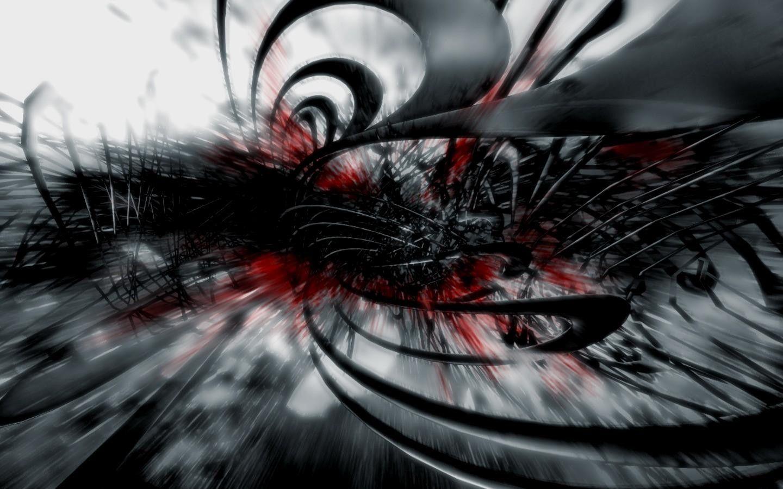 Branco E Vermelho Fundo Abstrato Widescreen 2 HD