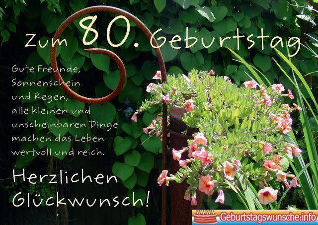 Geburtstagswunsche fur manner 80 jahre