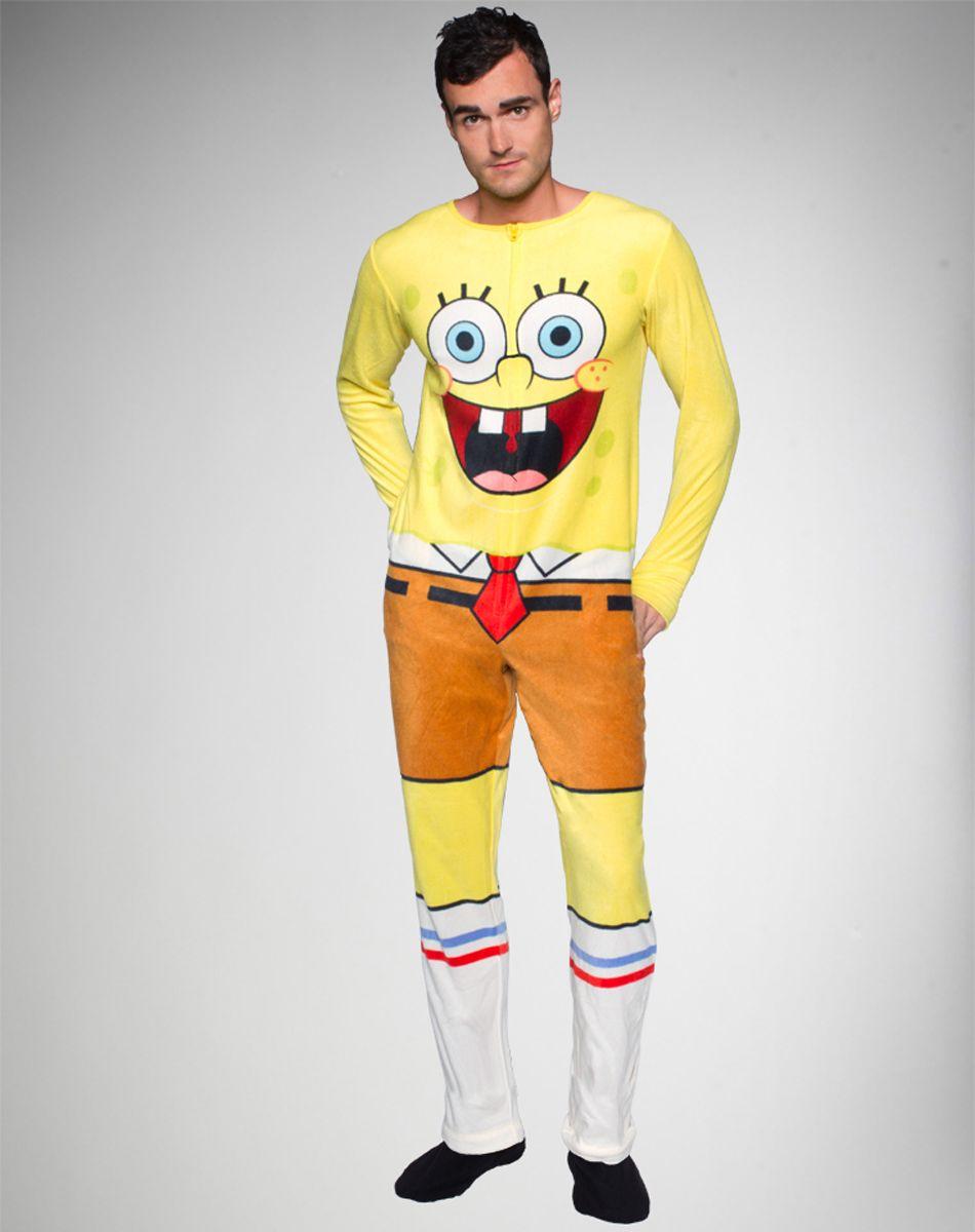 Mens Spongebob Pajamas
