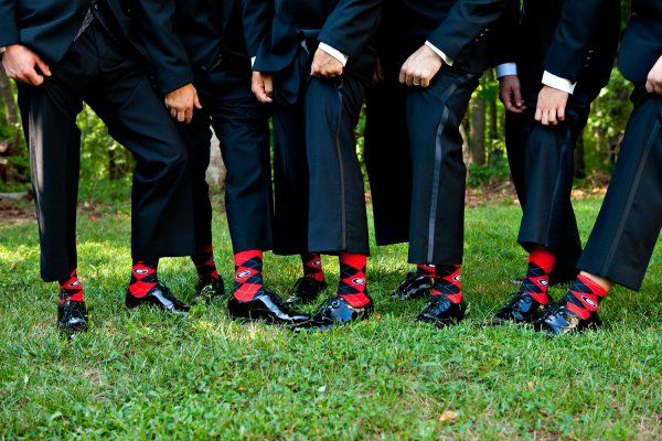 groomen socks...so cool!