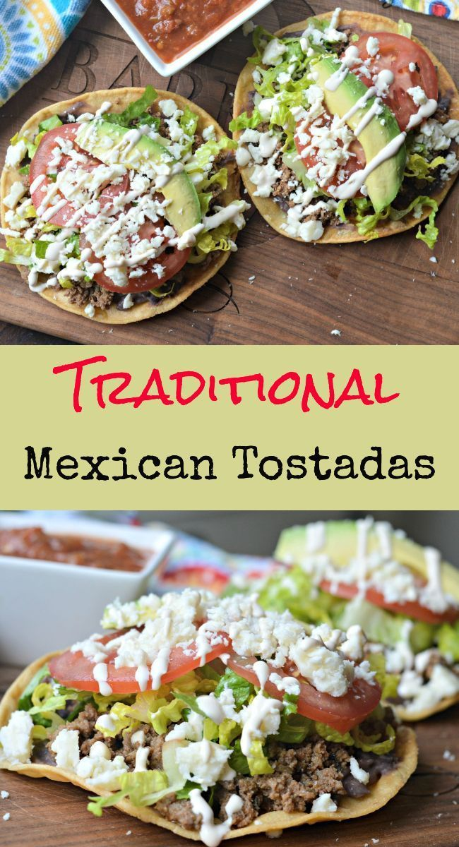 Photo of Traditional Mexican Tostadas Recipe For Your Next Fiesta #tacos Traditional Mexi…