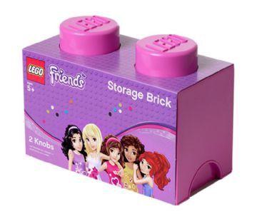 Lego Friends Opbevaringsboks 2 - Pink