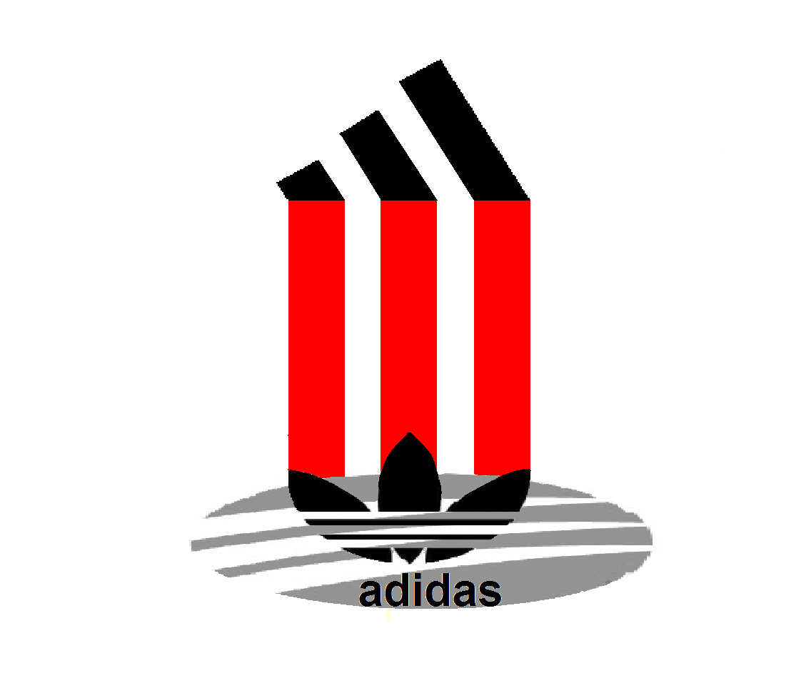 Adidas, new logo, design.