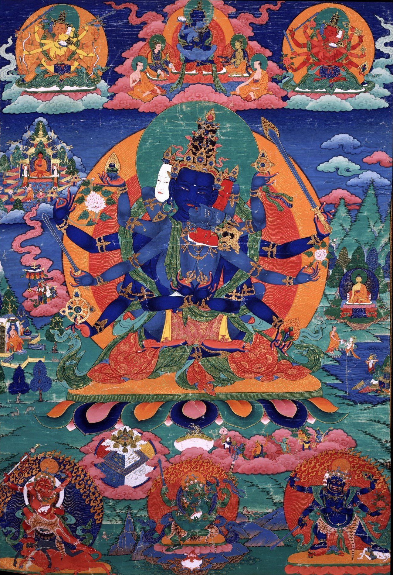 Art Super Art Pinterest Dharma Chakra