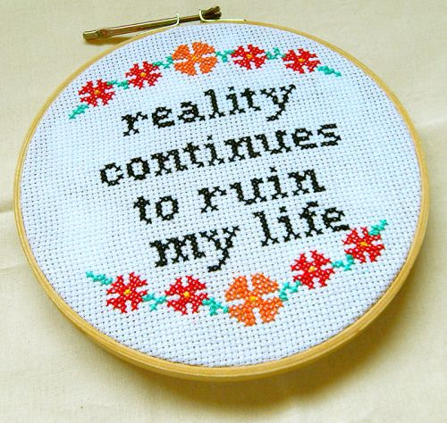 "Not Snarky #70-74694 OOP SALE! Cross Stitch Kit ~ Dimensions /""Say It!/"" Humor"