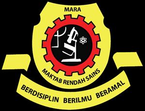 Maktab Rendah Sains Mara Logo Vector Vector Logo Logos Vector