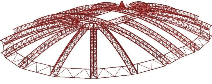 Georgia dome roof google search structures pinterest georgia dome - Steel structure house plans a world in motion ...