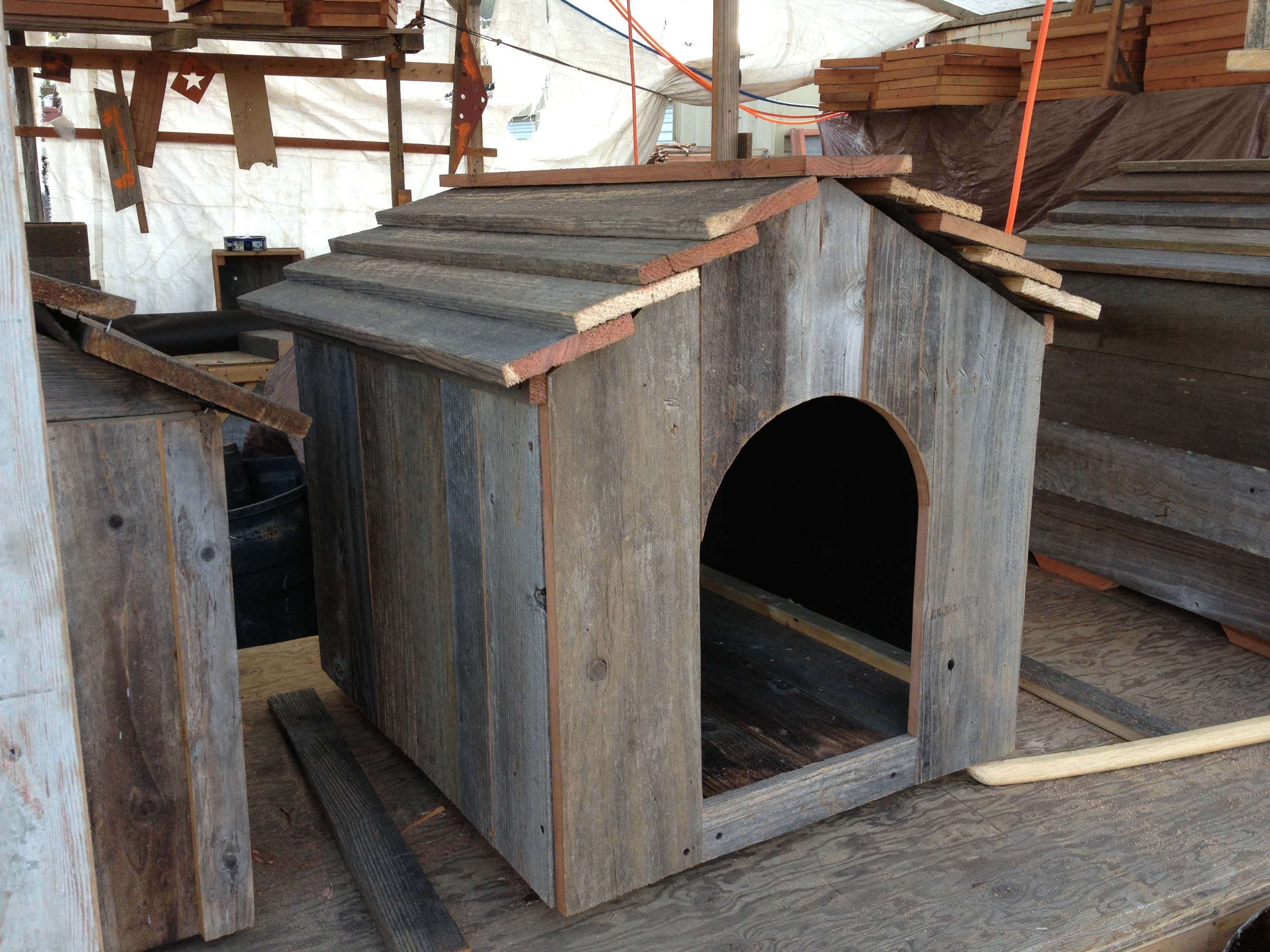 Rustic Dog House Fence Design Backyard Fences Rustic Fence