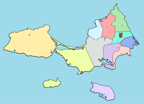 Isla Margarita - Wikipedia, the free encyclopedia ... on puerto cabello venezuela map, simple venezuela map, maracaibo venezuela map, porlamar venezuela map, merida venezuela map, ciudad bolivar venezuela map, valencia venezuela map, barquisimeto venezuela map, argentina and venezuela map, paria peninsula venezuela map, venezuela river map, los roques venezuela map, venezuela colombia map, caracas venezuela map, punto fijo venezuela map, venezuela south america map, la guaira venezuela map, puerto la cruz venezuela map, aruba venezuela map, venezuela on a map,