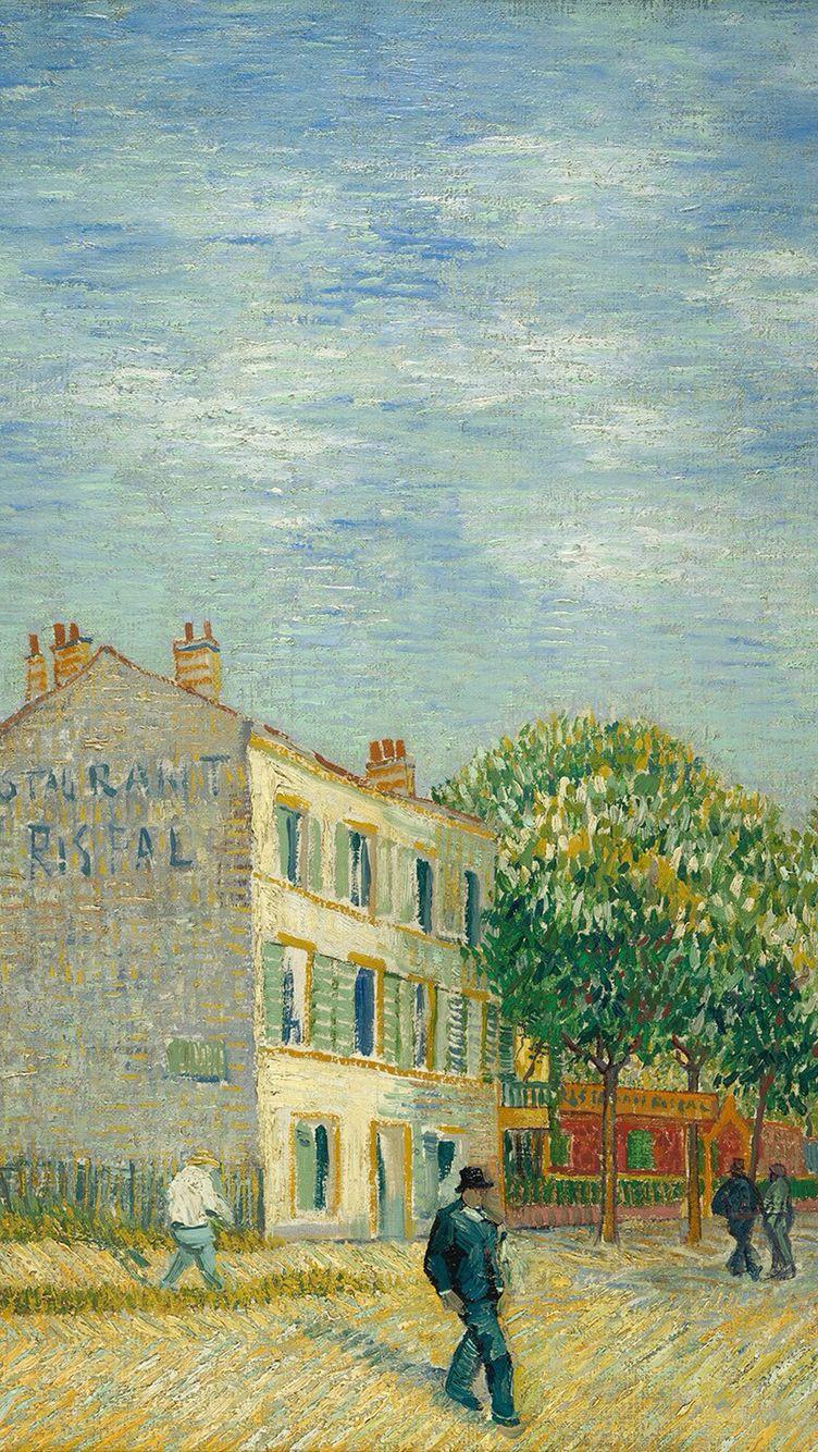 Ethnic iphone wallpaper - Van Gogh S Painting In Iphone Wallpaper