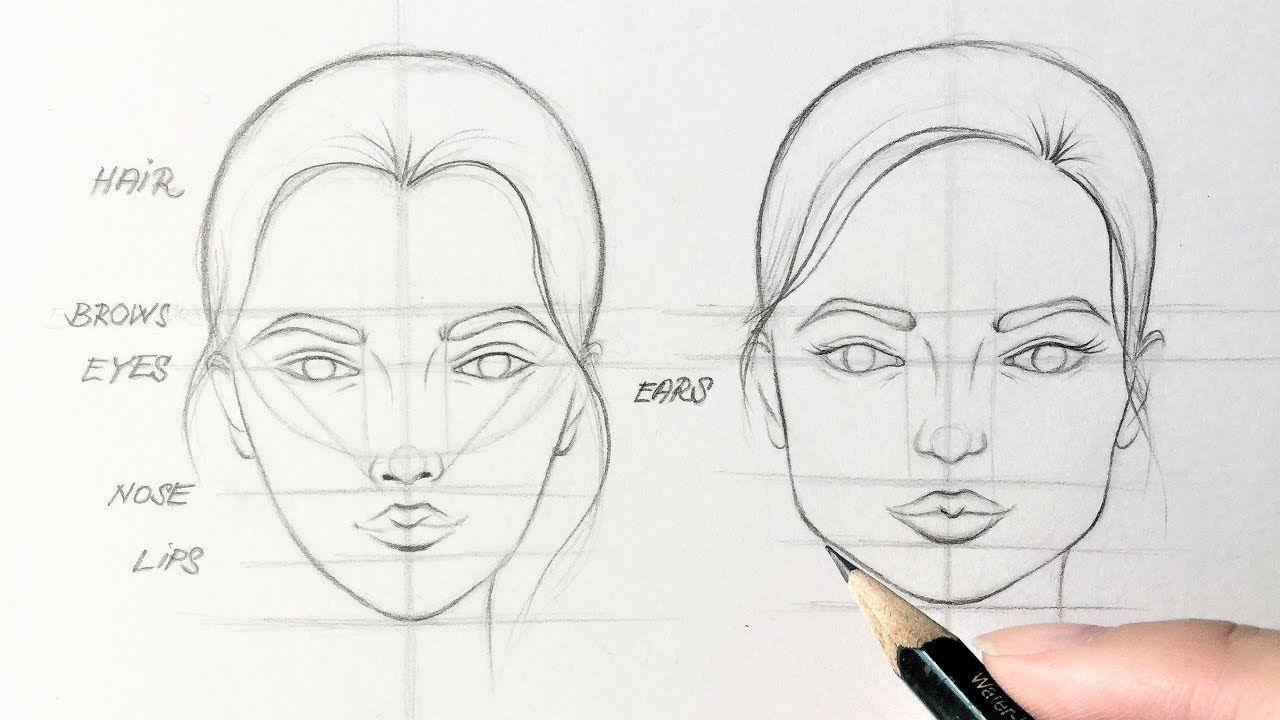 How To Draw Faces Easy Tutorial Youtube Face Drawing Drawing Tutorial Face How To Draw Eyelashes