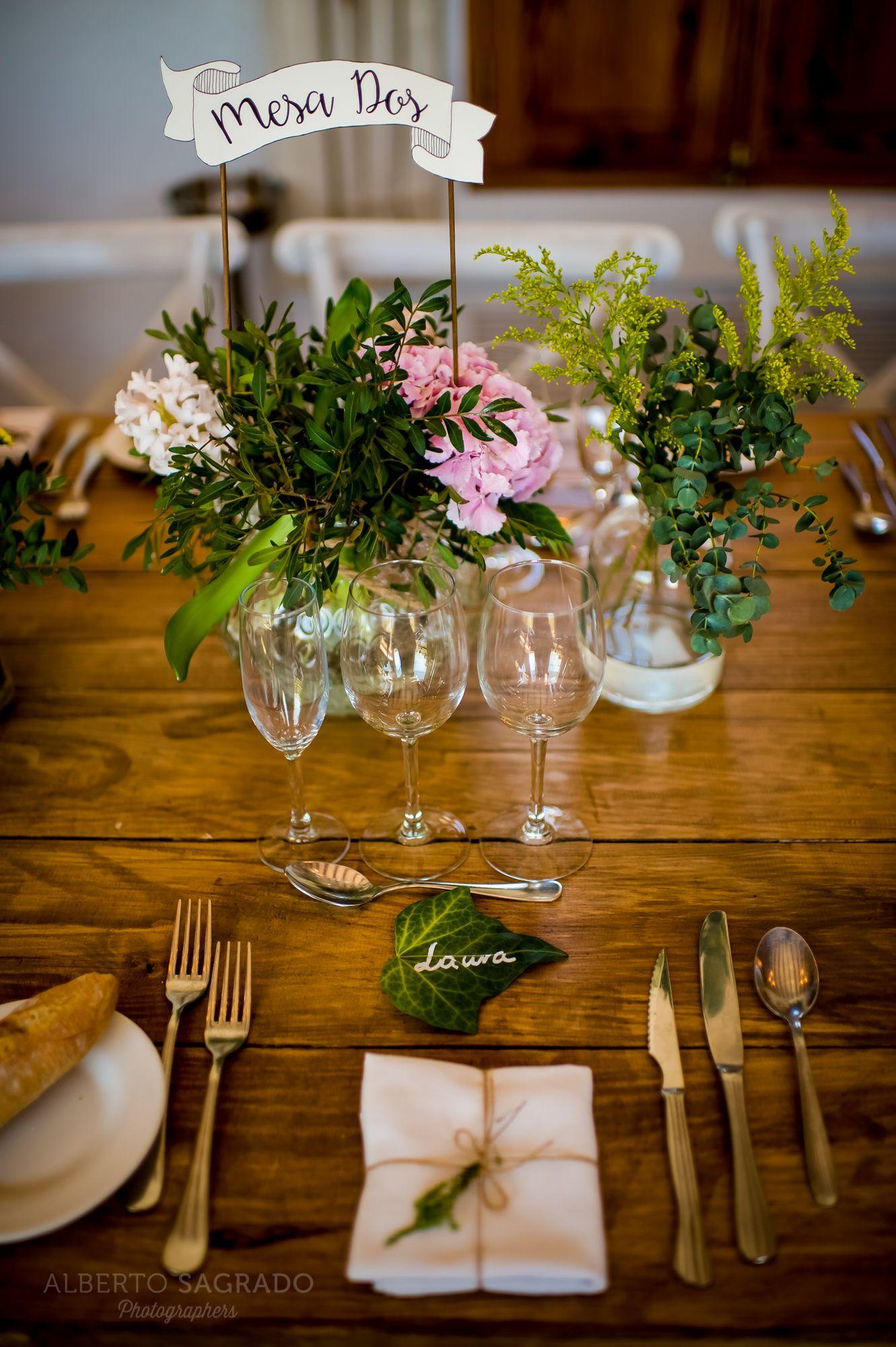 Diseo de centros de mesa vintage para bodas Centros de mesa para