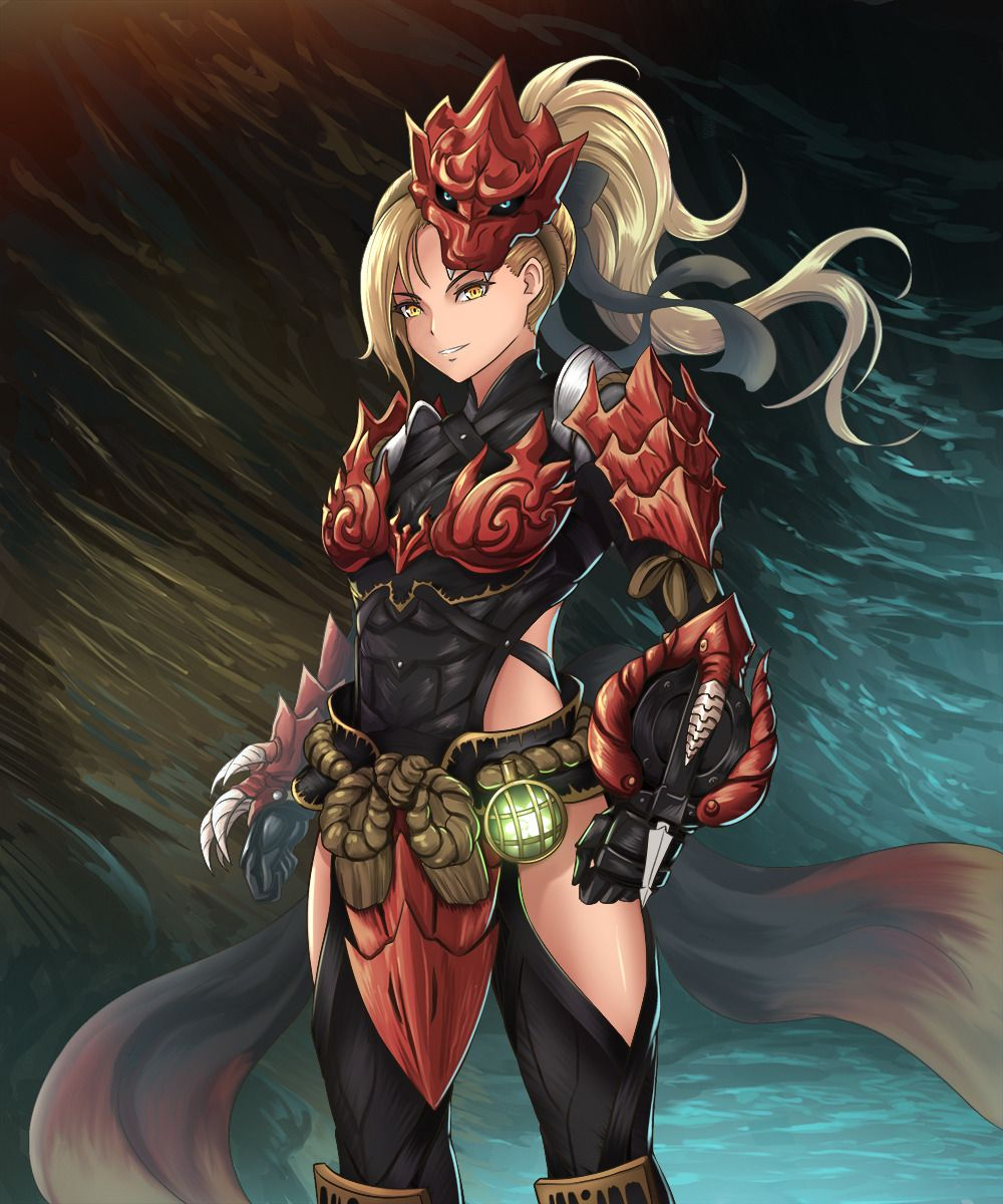 Odogaron Female Armor Set Monster Hunter World ユキのポケット