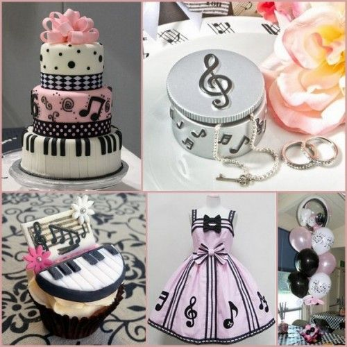 Music Note Themed Birthday Party Ideas For Kids From