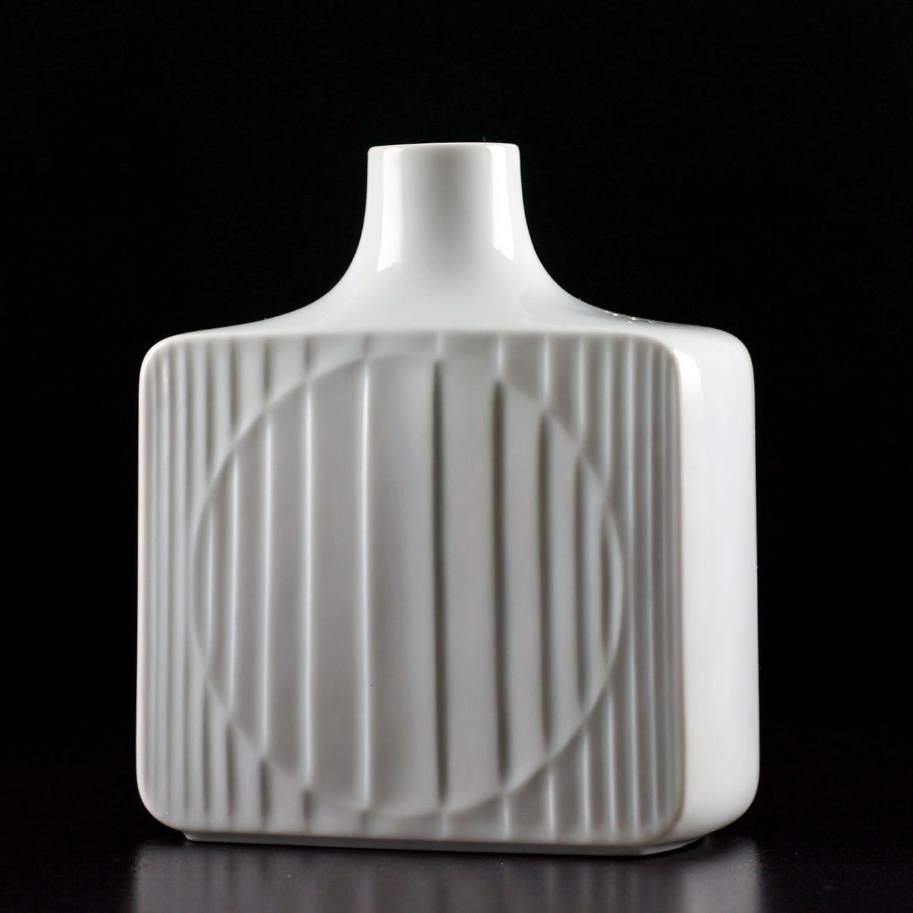 Furstenberg Vintage Retro 60er Jahre Op Art Vasarely Porzellan Vase Flaschenform Ebay With Images Vintage Vases West German Pottery Art Deco Inspired