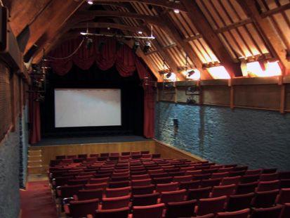 The Barn Cinema in Dartington, near Totnes, shows anything ...
