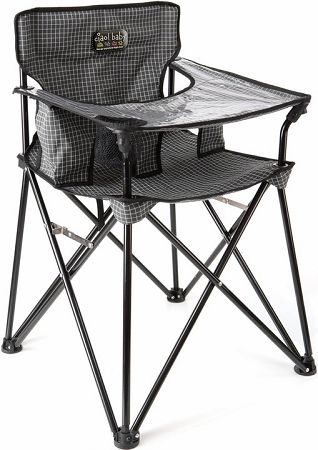 Baby Portable High Chair - Black....totally buying this!!!