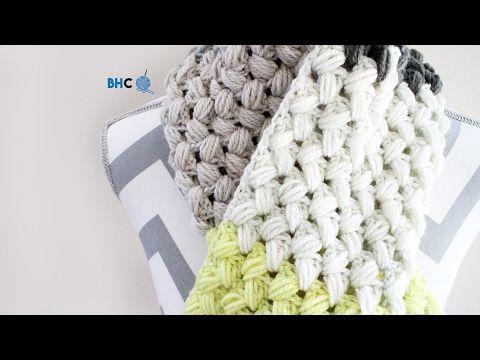 Zig Zag Puff Stitch Scarflette - Free Pattern & Tutorial | Pinterest ...