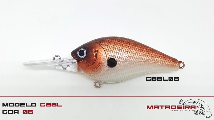 Isca Matadeira modelo cbbl06 #cbbl #cbbl06 #matadeira #fishing #blackbass #traíra #bigbass #bassmonster