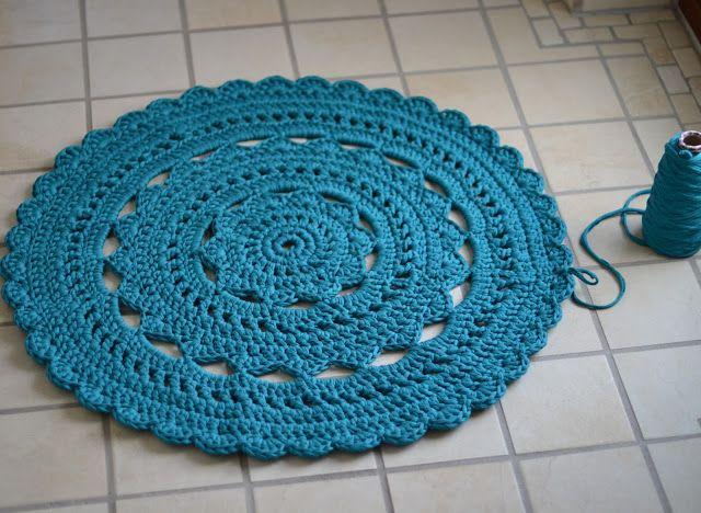 Knitting Sheep: mat fabric yarn