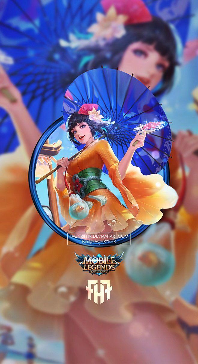 Wallpaper Phone Kagura Summer Time Saga by FachriFHR on DeviantArt